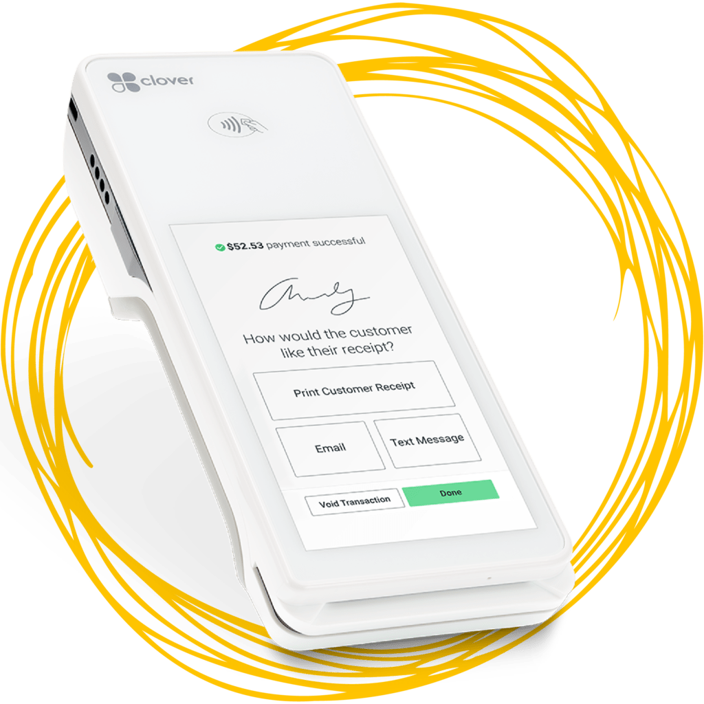 Clover Flex Payment Processing Terminal Credit Debit Machine
