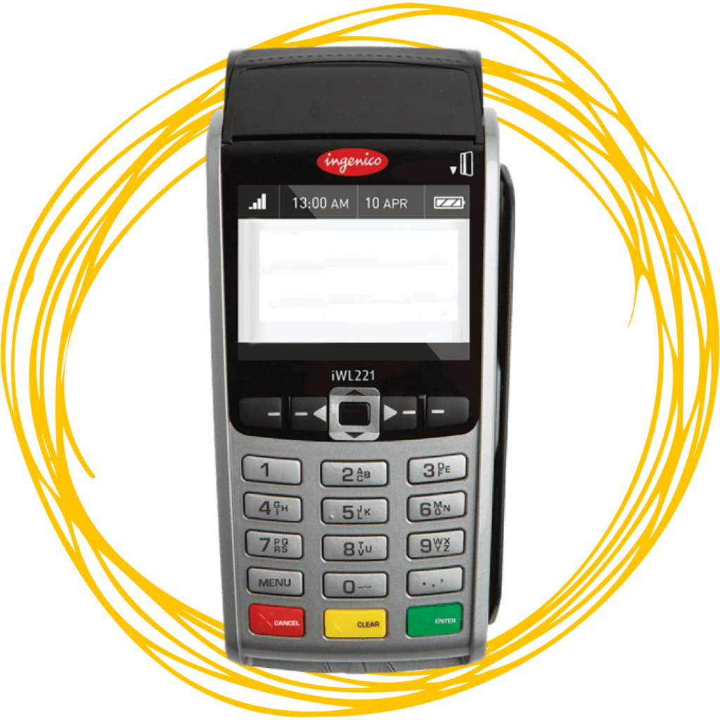 iWL 255 Payment Processing Terminal Credit Debit Machine