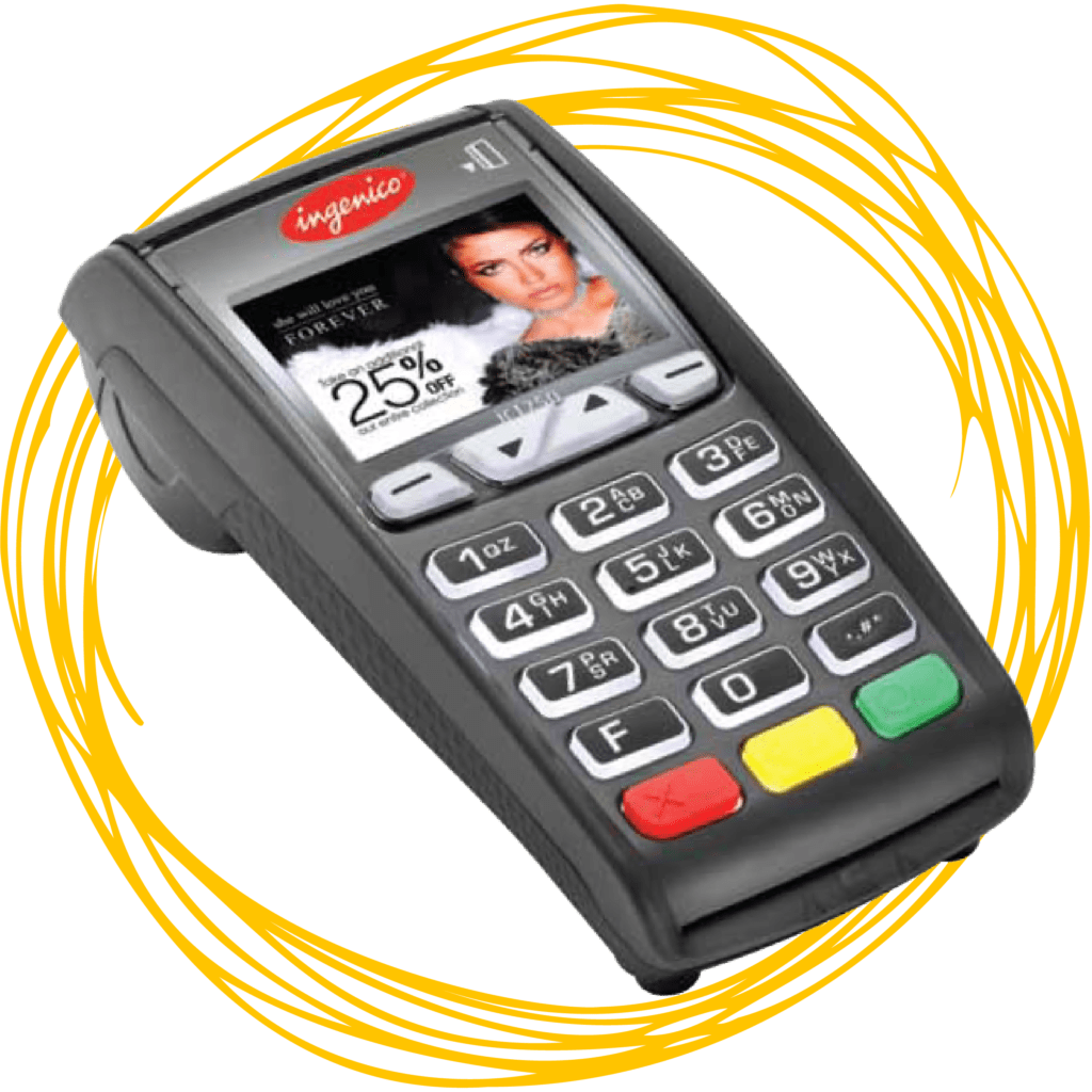 iCT 250 Payment Processing Terminal Credit Debit Machine