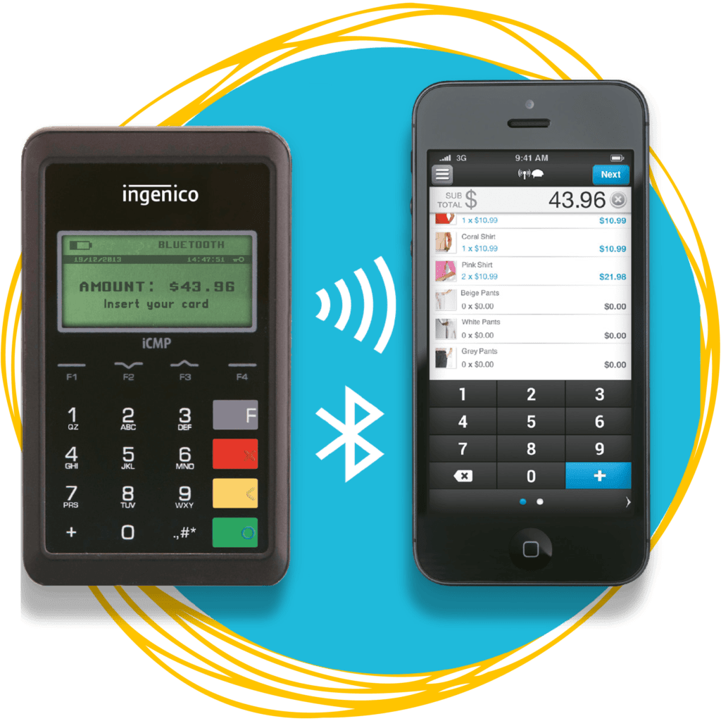 iCMP MPOS Payment Processing Terminal Credit Debit Machine