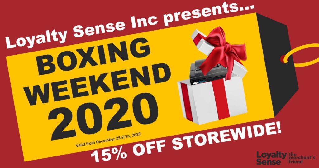 Loyalty Sense Inc Boxing Day POS Systems sale